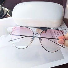 Load image into Gallery viewer, Retro Pink Tint Sunglasses