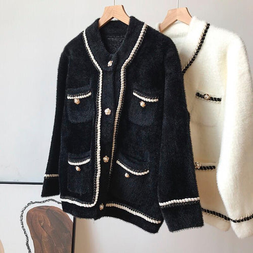 Coco Black Cardigan/Jacket