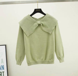 Rovi Green Knitted Jumper