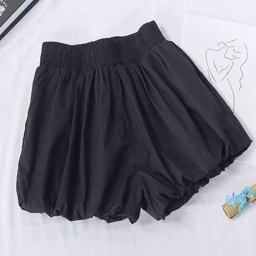 Ericia Black Puffed Shorts