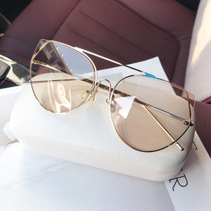 Retro Light Tint Sunglasses