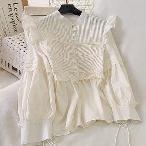 Jac Detailed Cream Top