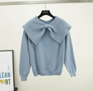Rovi Blue Knitted Jumper