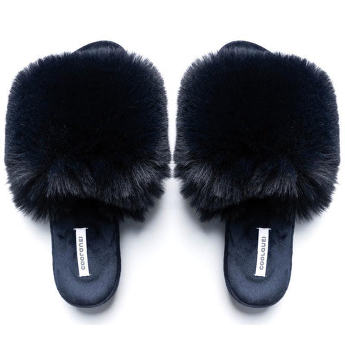 Fluffy Navy Sliders