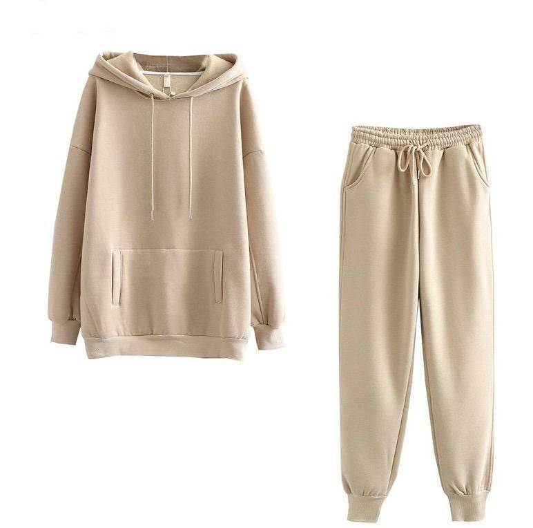 Mazz Beige Loungewear Set