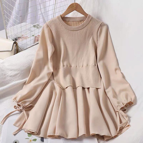 Witty Cream Dress