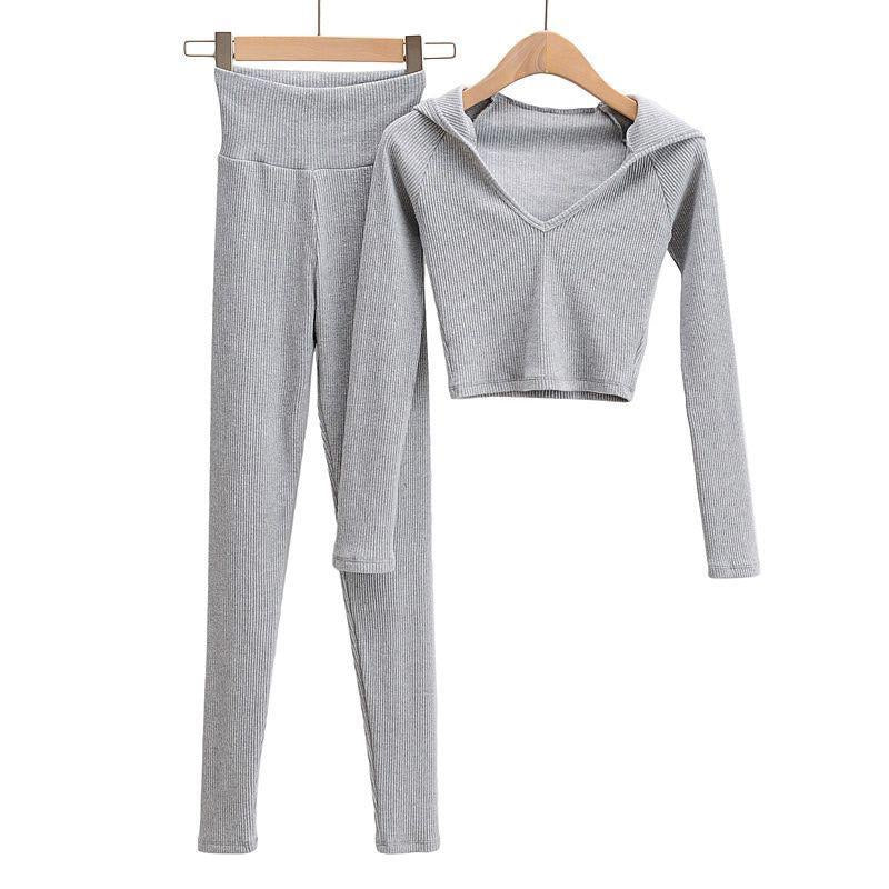 Lordie Grey 2 Piece Loungewear Set