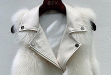 Load image into Gallery viewer, Sinner Faux Fur Gilet Cream