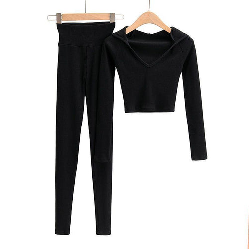 Lordie Black 2 Piece Loungewear Set