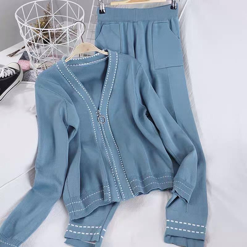 Snowie Blue Loungewear Set