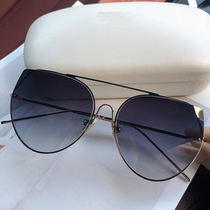 Retro Black Tint Sunglasses
