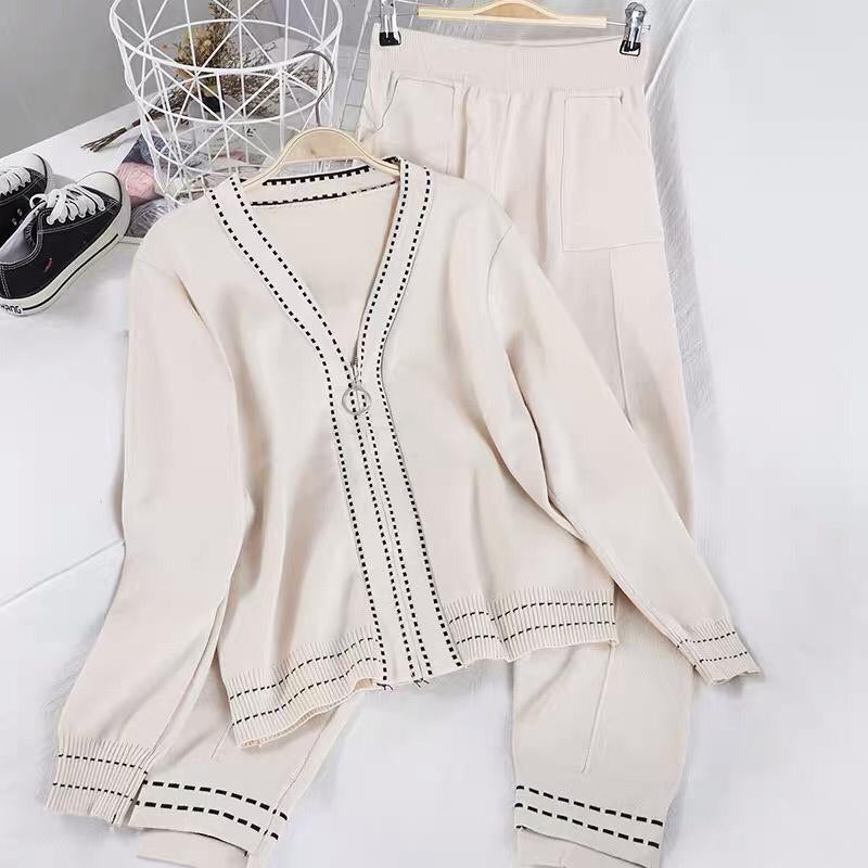 Snowie White Loungewear Set