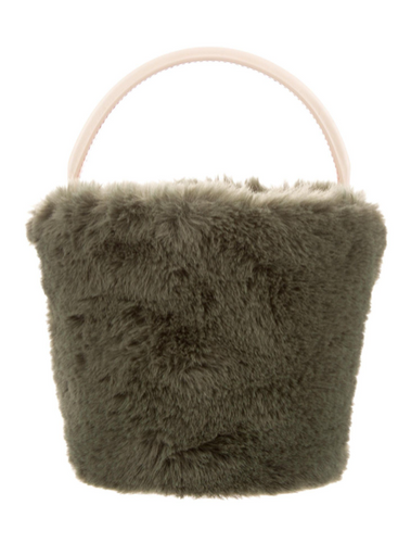 CAFUNE | FUR BUCKET BAG - HANDBAG | WCAFN20003