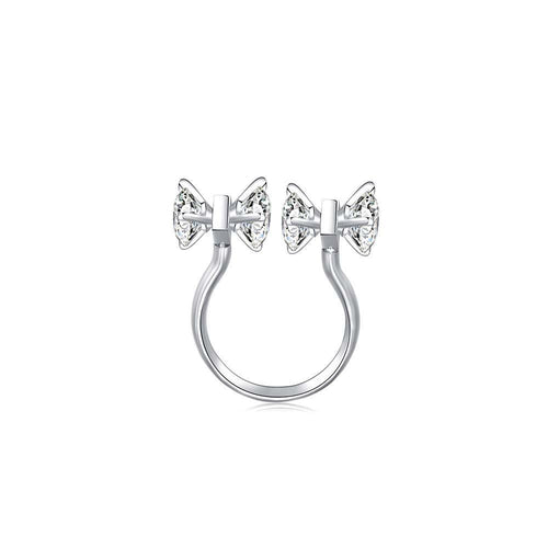 OOPS JEWELRY | 2 MY LOVE RING 13# (SILVER) | ZZRW00513