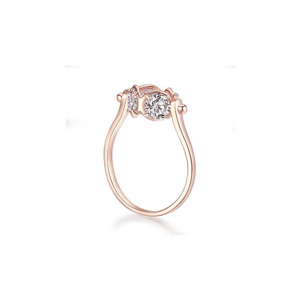 OOPS JEWELRY | 4 FOR YOU RING 13# (ROSE GOLD) | ZZRP00113