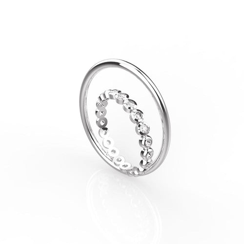OOPS JEWELRY | XUAN GIN TONIC RING 13# | XARW01013