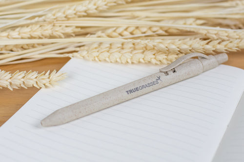 TRUEGRASSES | BALL PEN SINGLE PACK (14.5CM) | BEIGE | TDA5030