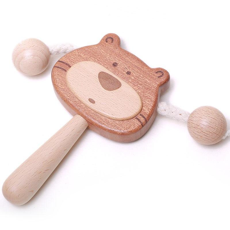 LOVELY MO | BEAR RATTLE DRUM | XS6-01