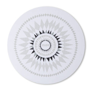 ISAK | ROUND DOUBLE SIDED TRIVET/ PLACEMAT | TMID2
