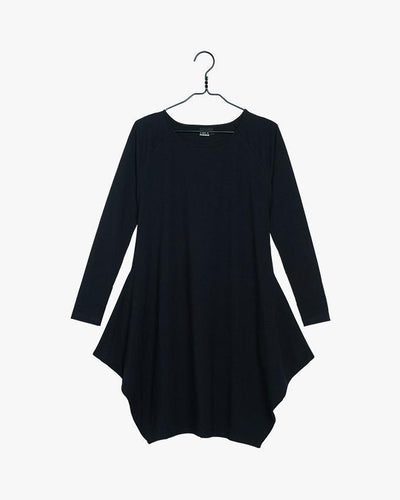 PAPU | BLACK KANTO DRESS / XS | 6438385001673