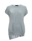 SHOKAY |  SINCERE LADIES' SHORT-SLEEVE SWEATER  |  AW-VS-SH_MT