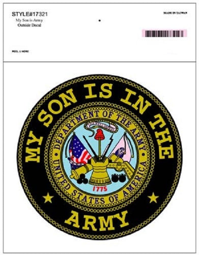 Army - Decal - My Son is in the Army