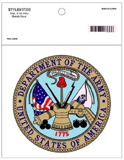 Army - Decal - Department of the Army