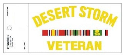 Decal - Desert Storm Veteran