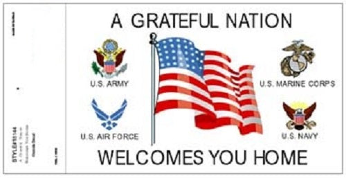 Patriotic - Decal - Grateful Nation