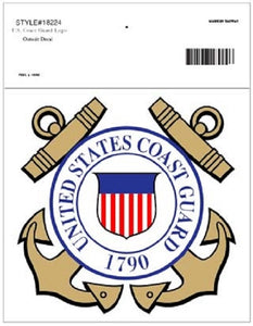 Coast Guard - Decal - United States Coast Guard 1790