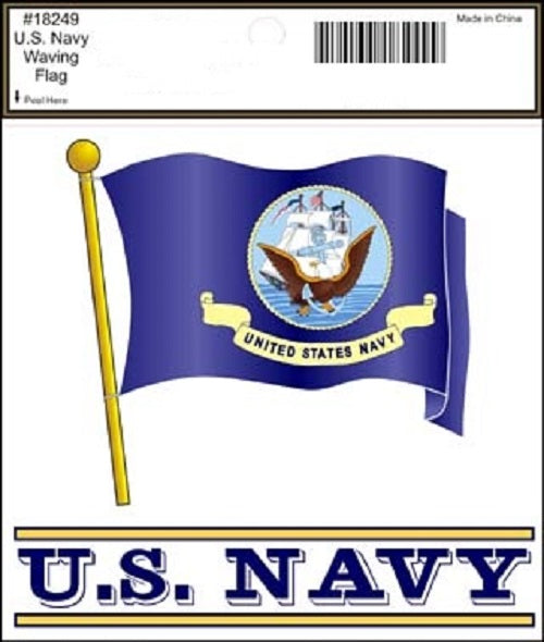 Navy - Decal - U.S. NAVY
