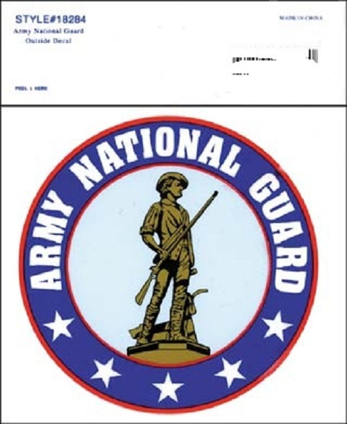 Army - Decal - Army National Guard