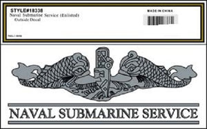 Navy - Decal - Naval Submarine Service