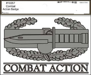 Army - Decal - Combat Action Badge