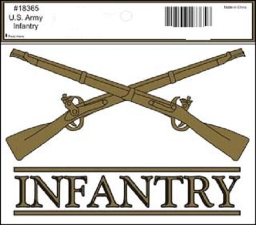 Army - Decal - Infantry (Crossed Rifles)