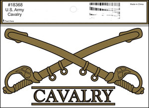 Army - Decal - Cavalry