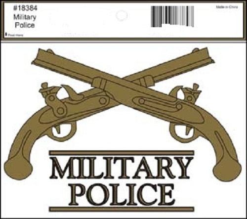 Army - Decal - Military Police