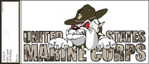 Marines - Decal - U.S. Marine Corps (Bulldog Camo)