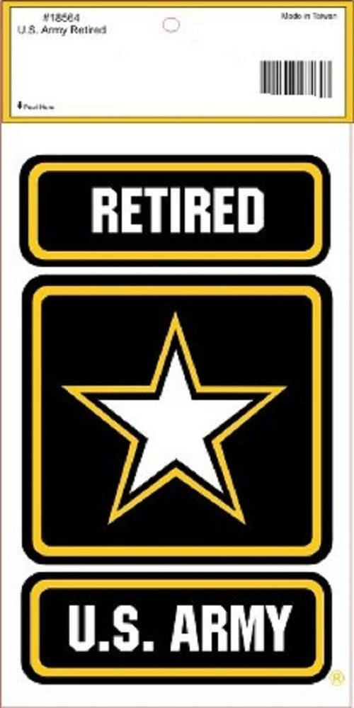 Army - Decal - U.S. Army Retired