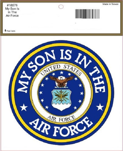 Air Force - Decal - My Son is in the Air Force