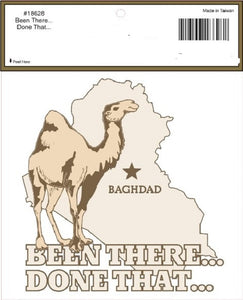 Decal - Been There Done That (Baghdad)