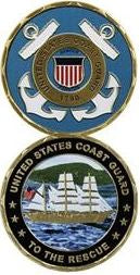 Coast Guard Challenge Coin - United States Coast Guard