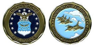 Air Force Challenge Coin (Style 1)