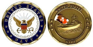 Navy Challenge Coin - US Navy