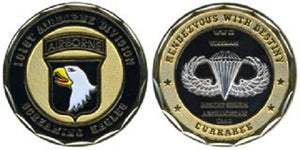 Army Challenge Coin - 101st Airborne Division