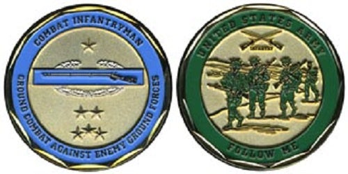Army Challenge Coin - Combat Infantryman