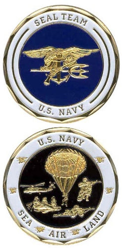 Navy Challenge Coin - SEAL Team
