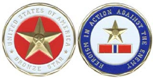 Challenge Coin - Bronze Star