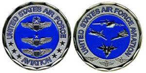 Air Force Challenge Coin - Aviation