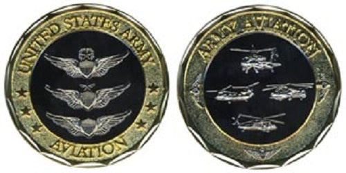 Army Challenge Coin - Army Aviation